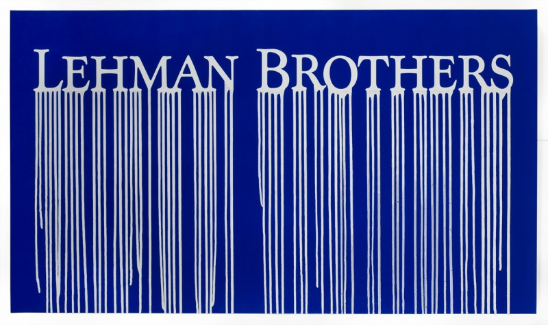 Zevs - Liquidated Lehman Brothers - Blue