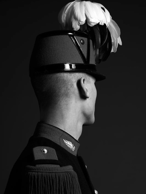336 - SLIMANE Hedi - Portrait of a French Cadet